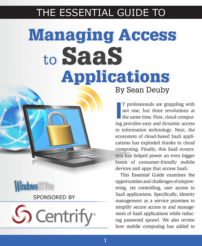 The Essential Guide to Managing Access to SaaS Applications