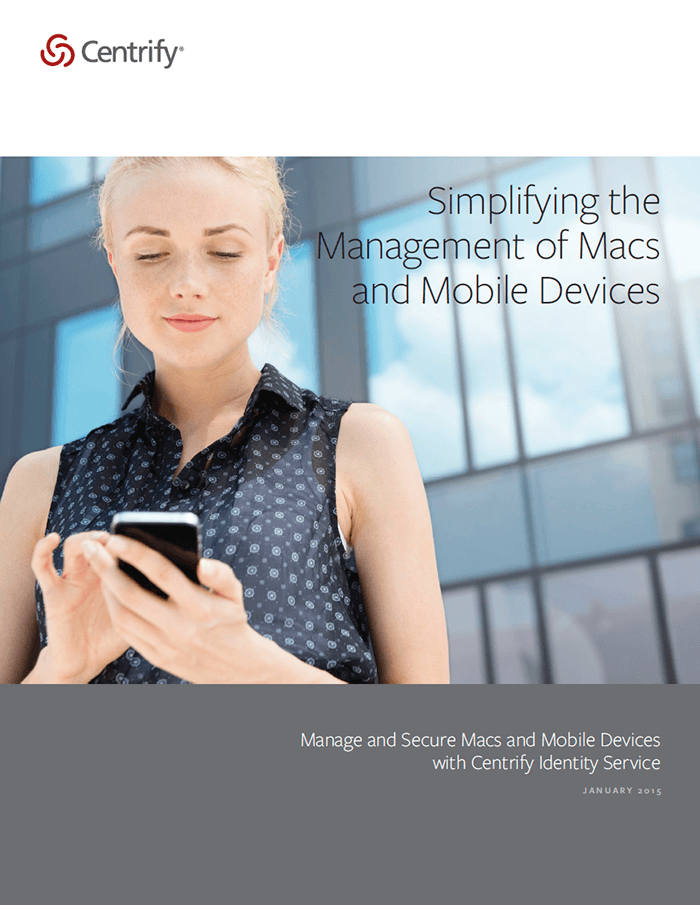 Simplifying the Management of Macs and Mobile Devices