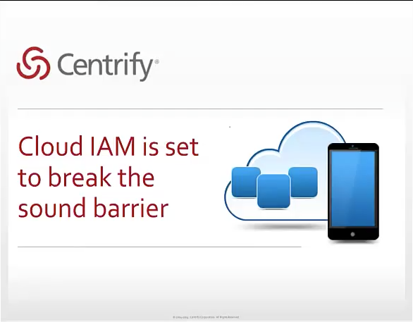 Cloud IAM is Set to Break the Sound Barrier