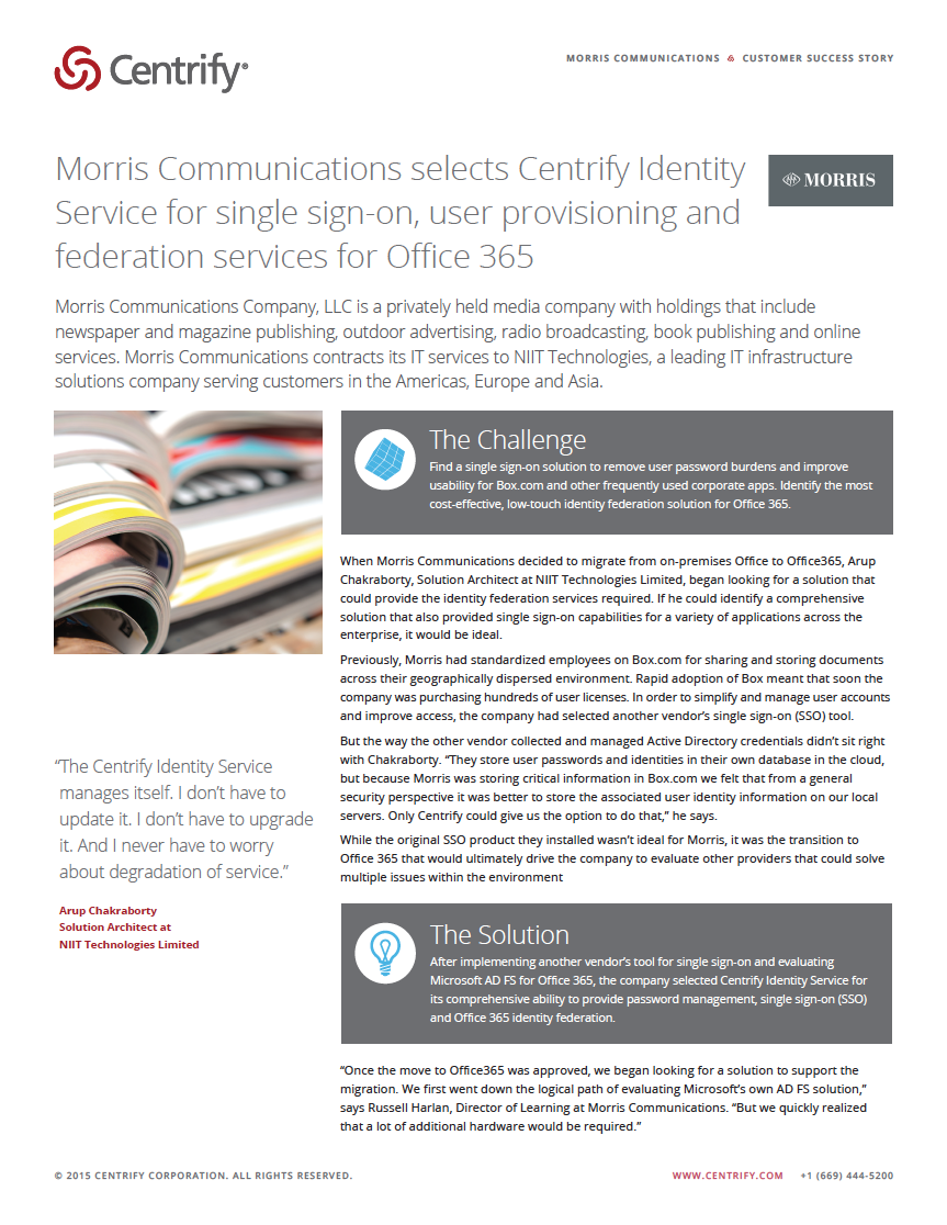 Morris Communications, Inc.