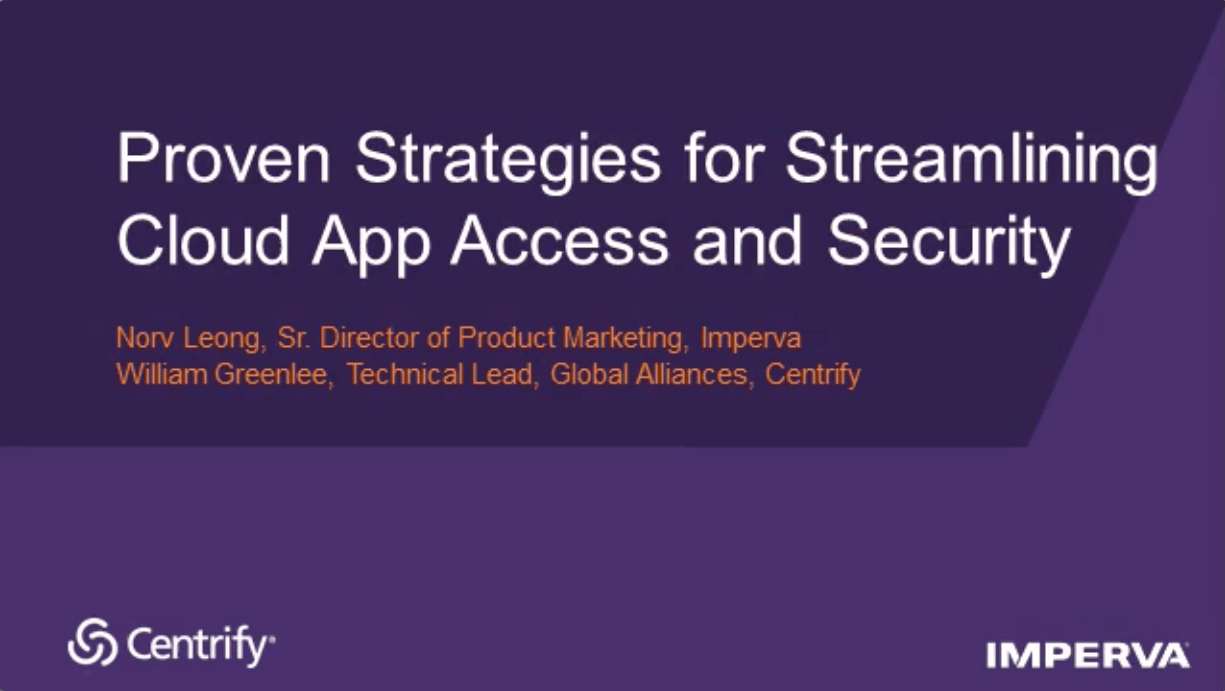 Proven Strategies for Streamlining Cloud App Access and Security