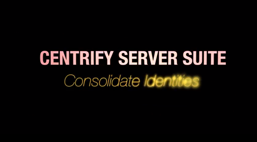 Server Suite Identity Consolidation