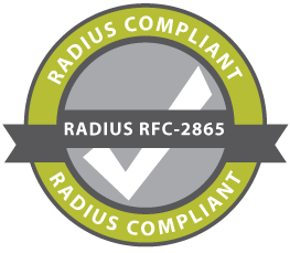 radius compliant logo, Radius Compliant MFA VPN authentication