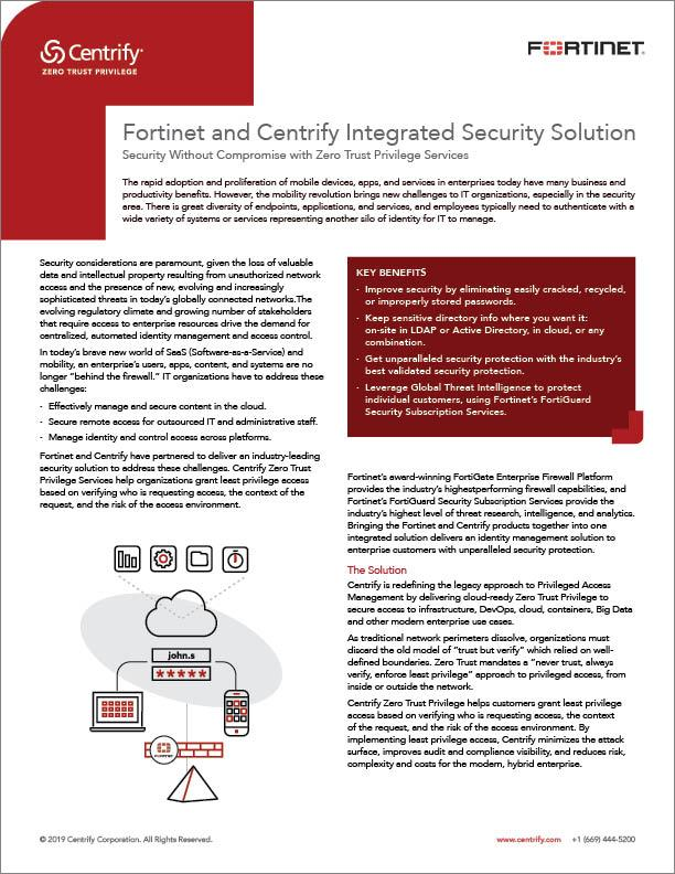 centrify-fortinet-alliance
