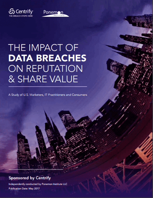 Ponemon: The Impact of Data Breaches on Reputation & Share Value