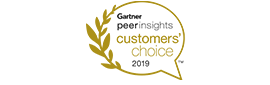 Gartner peerinsights customers' choice 2019