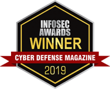 "Cyber Defense Magazine's 2019 InfoSec Award for ""Best Privileged Account Security Product"""