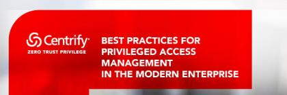 Best Practices for Privileged Identity Management