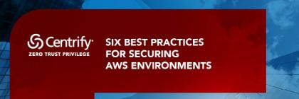 Six Best Practices for Securing AWS