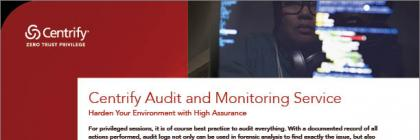 Audit and Monitoring Service