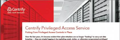 Privileged Access Service