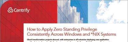 How to Apply Zero Standing Privilege Consistently Across Windows and *NIX Systems