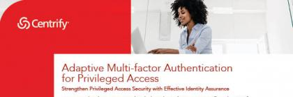 Adaptive MFA for Privileged Access