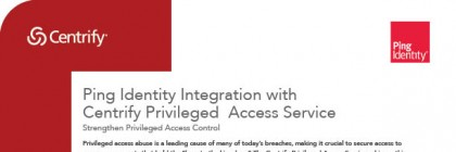 Centrify and Ping Identity