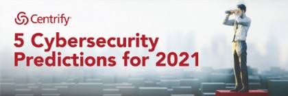 5 Cybersecurity Predictions for 2021 infographic