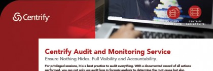 Centrify Audit and Monitoring Service